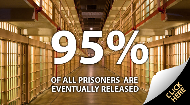 95% of All Prisoners Eventually Released